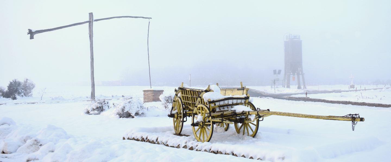 Ulaz u Tovarnik iz smjera Ilače, Đeram i kola