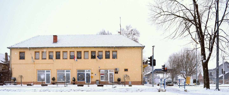 Zgrada Općine Tovarnik, siječanj 2019